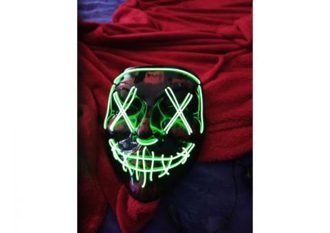new light up purge mask