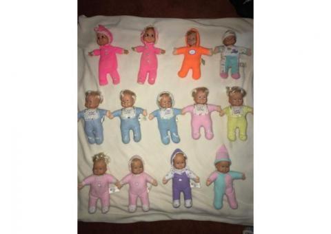 Baby Beans Dolls - Vintage 1970s-80